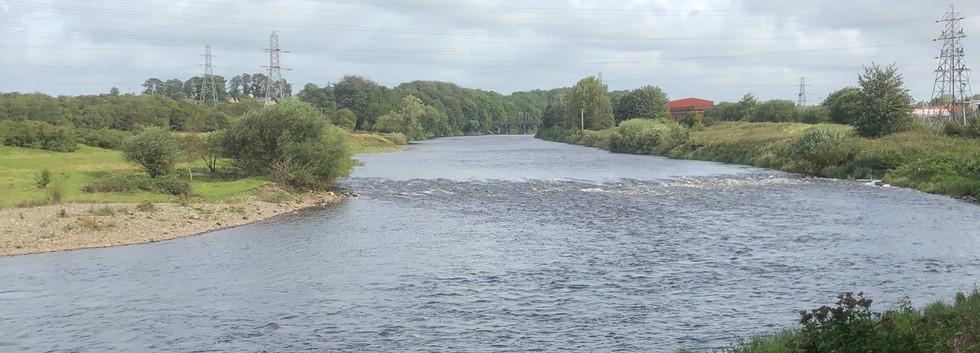 River Eden as I Entered Carlisle