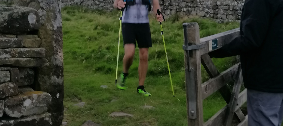 Entering Checkpoint 4 with John and Daz