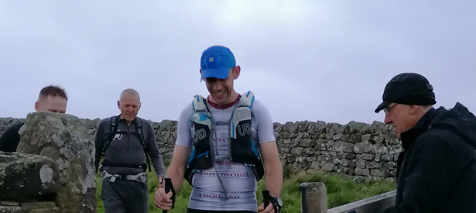 Entering Checkpoint 4 with Daz and John
