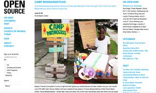 Camp Mossandsticks in NYC!