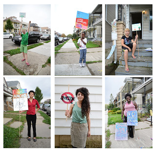 Protest Signs of Hamtramck!