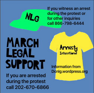Legal Support @ the J21 March