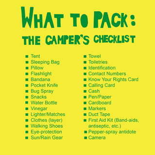 What to bring to camp!