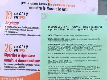 """19 Luglio 2020: """"57 giorni. Il conto alla rovescia di Paolo Borsellino"""""""