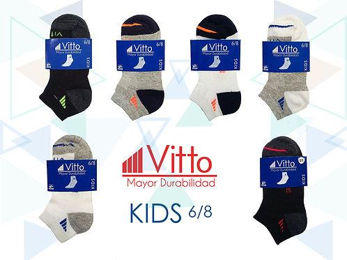 Vitto Surtido Niño 6-8 (100 Pares)