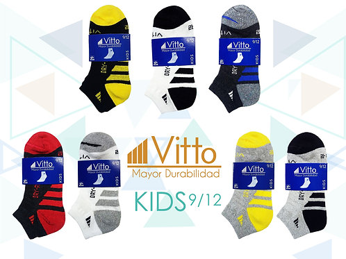 Vitto Surtido Niño 9-12 (100 Pares)