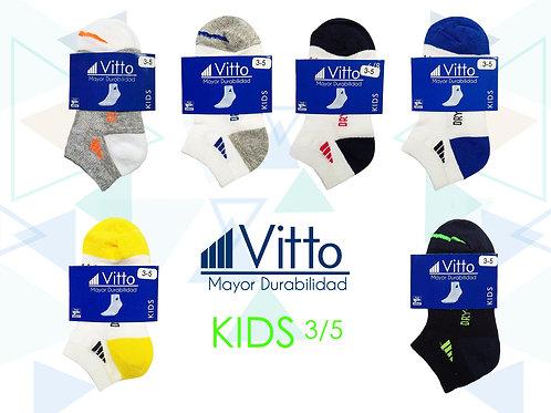 Vitto Surtido Niño 3-5 (100 Pares)