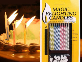 Notes from a Musky Trail Hiker #6: Magic Relighting Candles