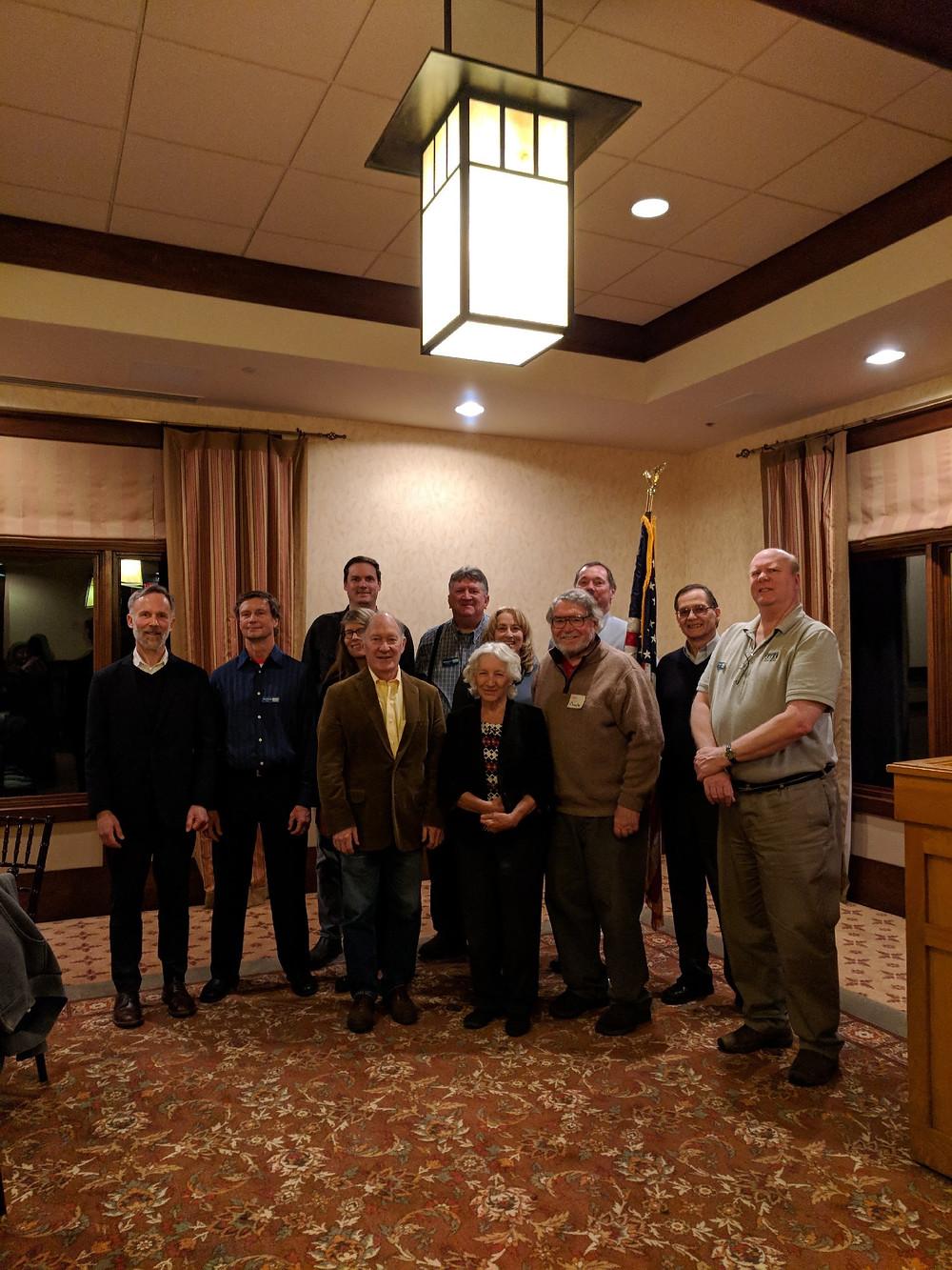 Andy Johnson and the MWA Board of Directors