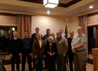 Substantial funder attends MWA Annual Meeting