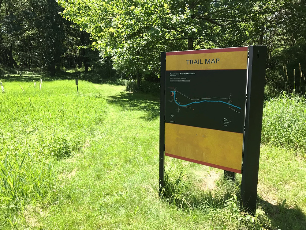 Musconetcong Education Trail Map