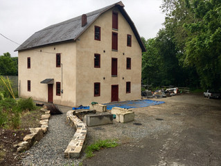 "It's beginning to look like the ""new"" old Asbury Mill"