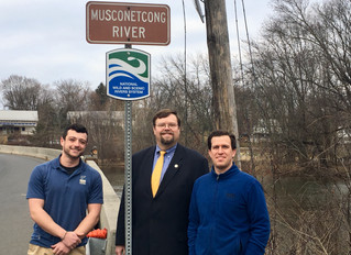 Press Release: Wild & Scenic River Signs to be placed along the Musconetcong River