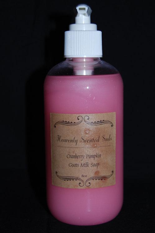 Cranberry Pumpkin Goat Milk Liquid Soap