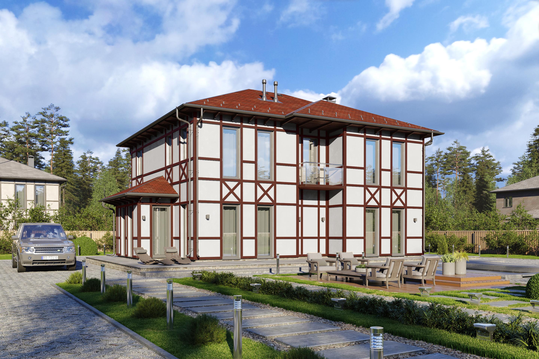 Доступный каркасный дом Совершенный