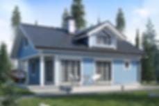 Сандинавские каркасные дома от TNKarkas