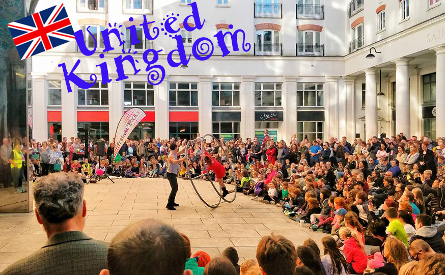 Belfast Festival of Fools Circo Puntino