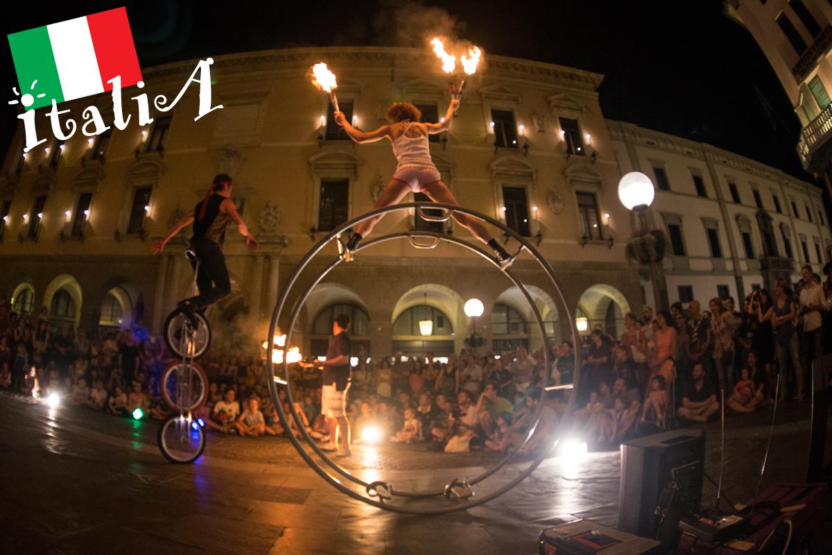 Italia artisti di strada festival