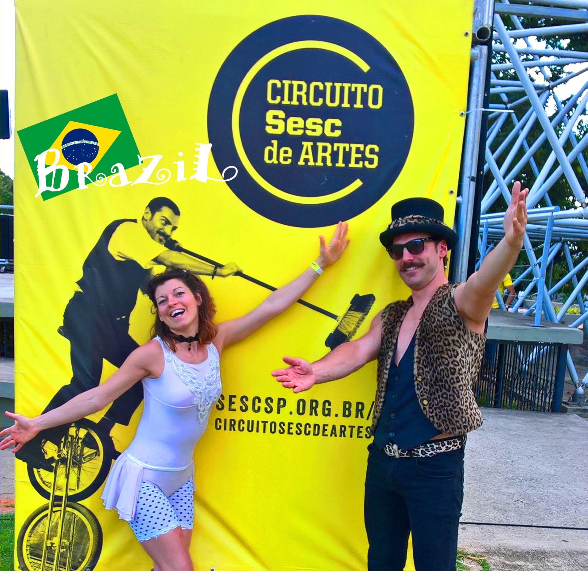 Artistas de Rua no Brazil