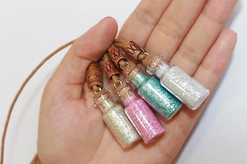 ECO Glitter com colar