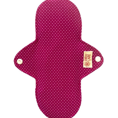 Absorvente de Pano Reutilizável Normal Circulare Pin-up Rosa