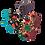 Thumbnail: Kit Absorvente Ecológico de pano 2 Noturno, 2 Super + Necessaire