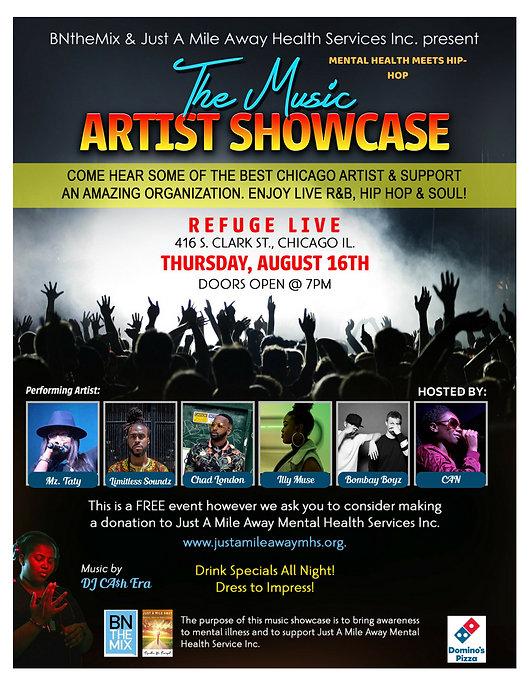Fundraiser Hip-hop Showcase| MENTAL HEALTH MEETS HIP HOP