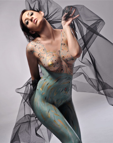 Studio nude by Peter Pickering Photography