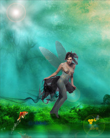 Fairy by Peter Pickering Photography