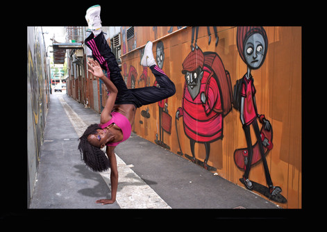 Breakdancer by Peter Pickering Photography