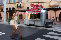 Marilyn's legs by Peter Pickering Photography