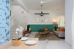 Keystone Townhouse Living Room