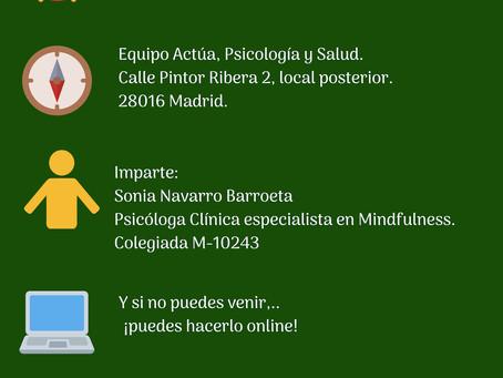 ¡APÚNTATE A NUESTRA SESIÓN INFORMATIVA GRATUITA DE NUESTRO TALLER DE ALIMENTACIÓN CONSCIENTE!.