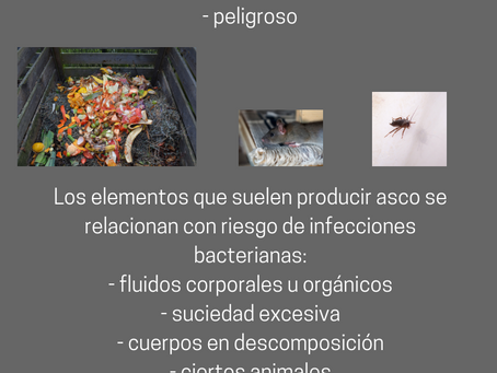 EL ASCO Y SU VALOR EVOLUTIVO.