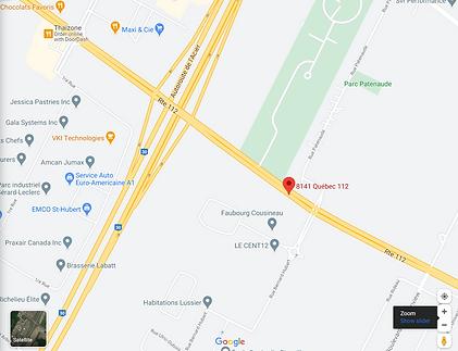 googlemap st-hubert.PNG