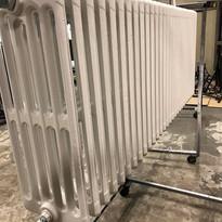 Décapage radiateur fonte