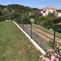 Barrières jardin