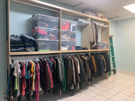From Shabby to Shelved: The story of our donation room renovation