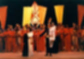 """""""Eduardo Alonso-Crespo"""" """"Juana la loca"""" Myriam Molina y Oscar Imhof, saludo final de Juana, la loca, ópera de Eduardo Alonso-Creso"""