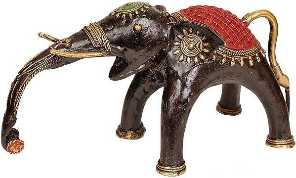 An Elephant (Tribal Statue From Bastar)