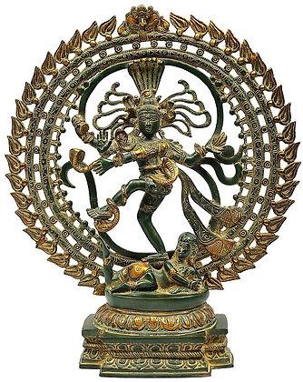 Fierce Dancing Lord Nataraja