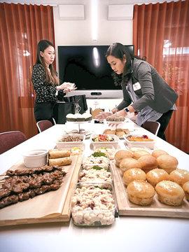 Corporate Food Tasting