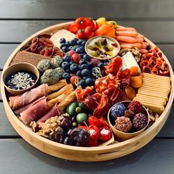 Round Festive Platter