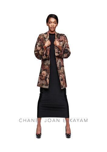 Animal Weaved Coat