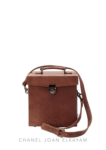 Large Leather Box Bag