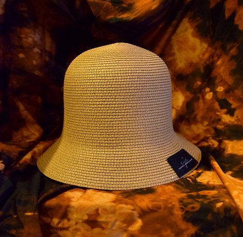 Handmade Straw Bucket Hat
