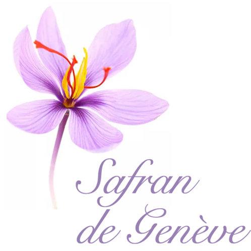 SAFRAN  de  Genève en pot de 0.5gr
