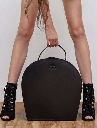 Large Leather Dolly Bag