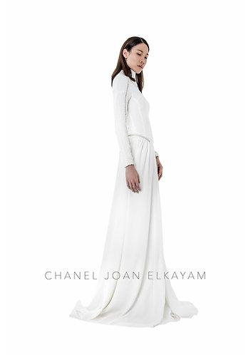 Swarovski Hand Embellished Floor Length Dress