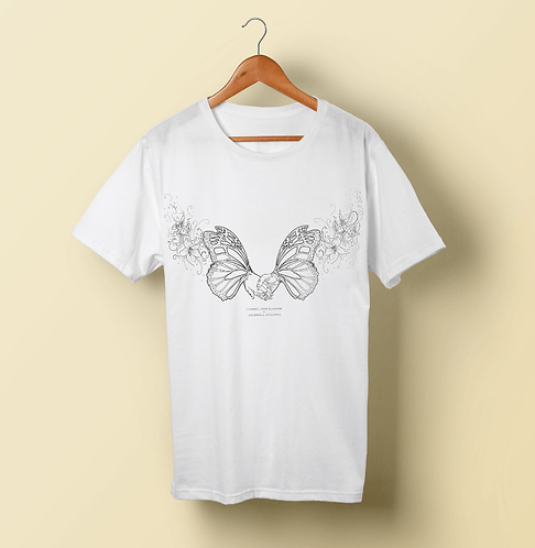 Chanel Joan Elkayam X Caudwell Children - Butterflies and Rainbows T-Shirt